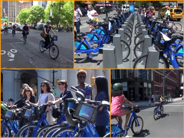 Citibike-collage